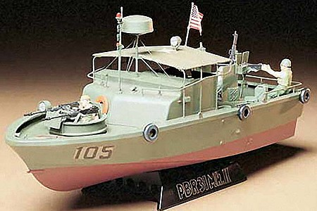 Tamiya US Navy PBR31 MkII Pibber Boat -- Plastic Model Military Ship Kit -- 1/35 Scale -- #35150