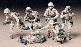 Tamiya US Modern Military Soldiers Desert Plastic Model Military Figure Kit 1/35 Scale #35153