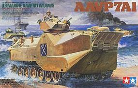 Tamiya US Marines AAVP7A1 W/UGWS Plastic Model Military Vehicle Kit 1/35 Scale #35159