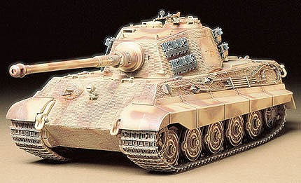 Tamiya King Tiger Tank -- Plastic Model Military Vehicle Kit -- 1/35 Scale -- #35164