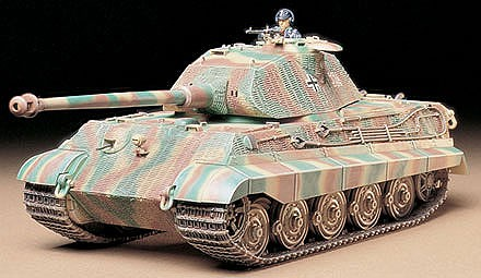 Tamiya King Tiger Porsche Tank Plastic Model Military Vehicle Kit 1/35 Scale #35169