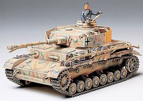 Tamiya German Panzer IV Tank Plastic Model Military Vehicle Kit 1/35 Scale #35181