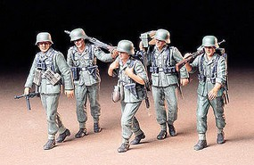 Tamiya German Machine Gun Soldier Crew Plastic Model Military Figure Kit 1/35 Scale #35184