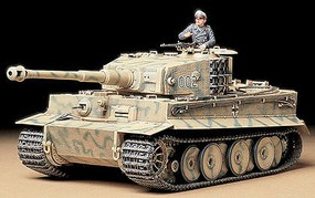 Tamiya German Tiger I Mid Production Tank Plastic Model Military Vehicle Kit 1/35 Scale #35194