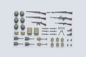 Tamiya U.S. Infantry Equipment Set Plastic Model Military Diorama Kit 1/35 Scale #35206