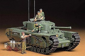 Tamiya British Infantry Support Tank MK.IV Plastic Model Military Vehicle Kit 1/35 Scale #35210