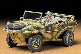 Tamiya Schwimmwagen Type 166 Plastic Model Military Vehicle Kit 1/35 Scale #35224