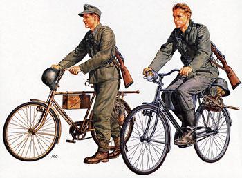 German Soldiers with Bicycle Set scala 1//35 Tamiya 35240