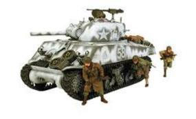 Tamiya M4A3 Sherman 105mm Tank Plastic Model Military Vehicle Kit 1/35 Scale #35251