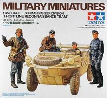 Tamiya Schwimmwagen Figure Soldier Set Plastic Model Military Figure Kit 1/35 Scale #35253