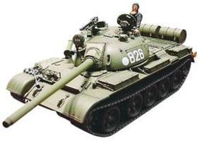 Tamiya Soviet Tank T-55 Plastic Model Military Vehicle Kit 1/35 Scale #35257