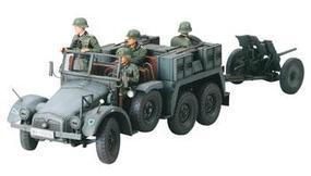 Tamiya Krupp Protze 1T Tow Tk w/Gun Pack Plastic Model Military Vehicle Kit 1/35 Scale #35259