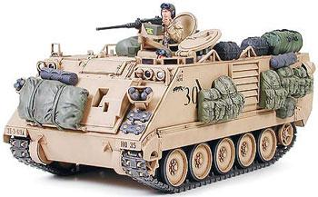 Tamiya M113A2 APC Desert Storm Support -- Plastic Model Military Vehicle Kit -- 1/35 Scale -- #35265