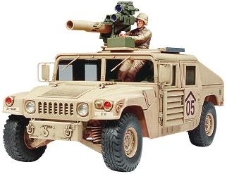 Tamiya M1046 HMV TOW Missile Carrier Plastic Model Military Vehicle Kit 1/35 Scale #35267