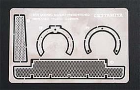 Tamiya US M1A1/A2 Abrams Photo-Etched Detail Set Plastic Model Vehicle Decal Set 1/35 Scale #35273
