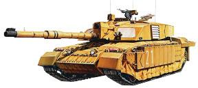 d7d047d98072 Tamiya Challenger II British Main Battle Tank Plastic Model Military  Vehicle Kit 1 35 Scale  35274.