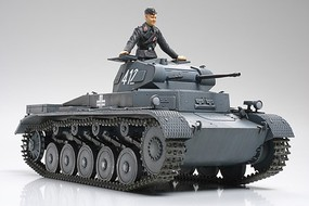Tamiya German PZKPFW II Ausf.A/B/C Sd.Kfz 121 Plastic Model Military Vehicle Kit 1/35 Scale #35292