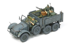 Tamiya German 6x4 Truck Krupp Protze Plastic Model Military Vehicle Kit 1/35 Scale #35317