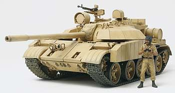 Tamiya Iraqi Tank T-55 Enigma Plastic Model Military Vehicle Kit 1/35 Scale #35324