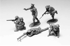 Tamiya WWI British Infantry Set Plastic Model Military Figure Kit 1/35 Scale #35339