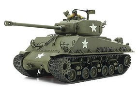Tamiya US Medium Tank M4A3E8 Sherman Easy Eight Plastic Model Military Vehicle Kit 1/35 #35346