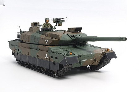 Tamiya JGSDF Type 10 Tank -- Plastic Model Military Vehicle Kit -- 1/16 Scale -- #36209