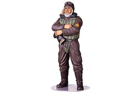 Tamiya WWII Japanese Navy Fighter Pilot Plastic Model Military Figure Kit 1/16 Scale #36312