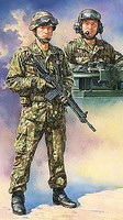 Tamiya JGSDF Tank Crew Set Plastic Model Military Figure Kit 1/16 Scale #36316