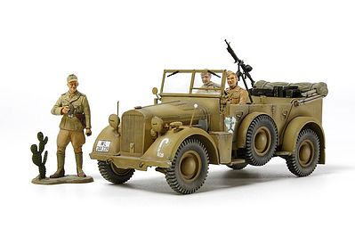 Tamiya German Horch Kfz15 Vehicle -- Plastic Model Military Vehicle Kit -- 1/35 Scale -- #37015