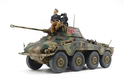 Tamiya German Heavy Armored Car Sd.Kfz.234/2 Puma -- Plastic Model Vehicle Kit -- 1/35 Scale -- #37018