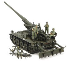 Tamiya US Self-Propelled Gun M107 Vietnam War Plastic Model Military Vehicle Kit 1/35 Scale #37021