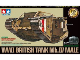 Tamiya British Tank Mk.Iv Male 1-35Rc