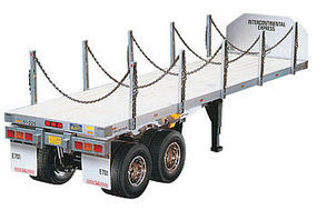 Tamiya 1/14 Flatbed Semi Trailer Kit