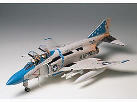 Tamiya F4J Phantom II Fighter Jet Aircraft Plastic Model Airplane Kit 1/32 Scale #60306