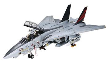 Tamiya Grumman F-14A Tomcat Black Knight Jet Aircraft -- Plastic Model Airplane Kit -- 1/32 Scale -- #37006