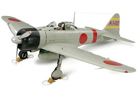 Tamiya Mitsubishi A6M2b Zero Fighter Aircraft Plastic Model Airplane Kit 1/48 Scale #60317
