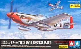Tamiya North American P-51D Mustang Plastic Model Airplane Kit 1/32 Scale #60322