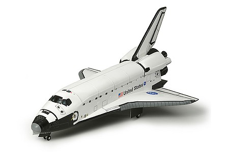 Space Shuttle Atlantis Spacecraft Space Program Plastic Model Kit 1/100 Scale #60402 by Tamiya ...