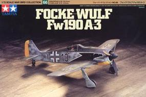 Tamiya Focke-Wolf 190 A-3 Plastic Model Airplane Kit 1/72 Scale #60766