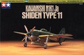 Tamiya Kawanishi N1K1-Ja Plastic Model Airplane Kit 1/72 Scale #60768