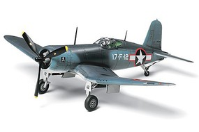 Tamiya Vought F4U-1 Corsair Plastic Model Airplane Kit 1/72 Scale #60774