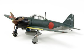 Tamiya Mitsubishi A6M5 Zero Fighter (Zeke) Plastic Model Airplane Kit 1/72 Scale #60779