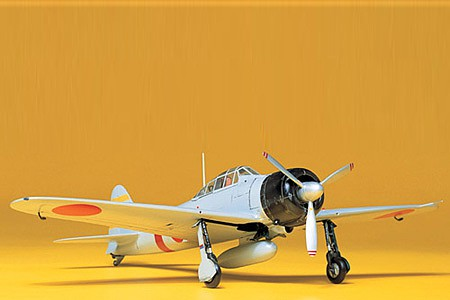 Tamiya A6M2 Type 21 Zero Fighter -- Plastic Model Airplane Kit -- 1/48 Scale -- #61016