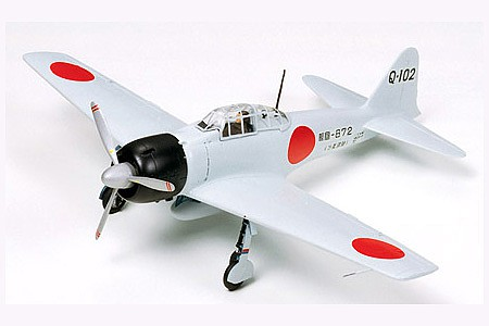 Tamiya A6M3 Type 32 Zero Fighter -- Plastic Model Airplane Kit -- 1/48 Scale -- #61025