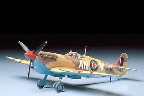 Tamiya Spitfire Mk.VB Tropical Fighter Aircraft Plastic Model Airplane Kit 1/48 Scale #61035
