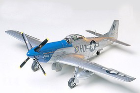 Tamiya North American P-51D Mustang Plastic Model Airplane Kit 1/48 Scale #60741