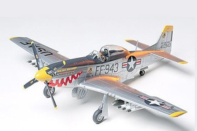 Tamiya F-51D Mustang Korean War Fighter Plastic Model Airplane Kit 1/48 Scale #61044