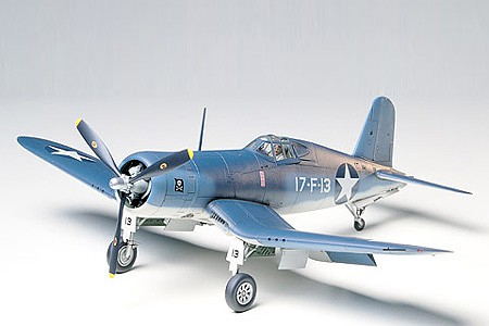 Tamiya F4U-1/2 Bird Cage Corsair Fighter Aircraft Plastic Model Airplane Kit 1/48 Scale #61046