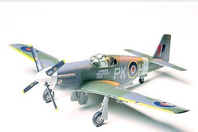 Tamiya RAF Mustang III Fighter Plastic Model Airplane Kit 1/48 Scale #61032