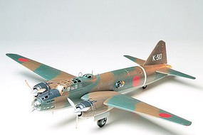 Tamiya Isshiki Rikko Type 11 Betty Aircraft Plastic Model Airplane Kit 1/48 Scale #61049